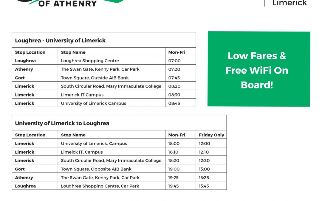 New Limerick Route Launched